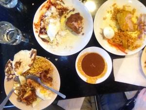 Lunch in Kuala Lumpur